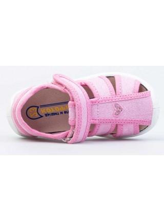 Текстильная обувь Котофей 221123-11 розовый (22-26)