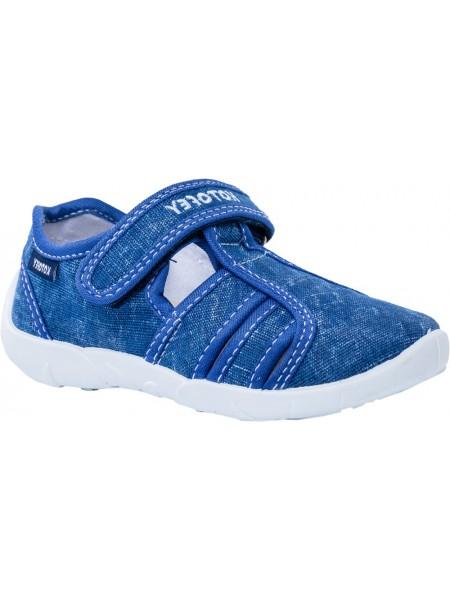 Текстильная обувь Котофей 421025-13 синий (26-31)