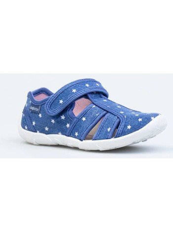 Текстильная обувь Котофей 421065-12 синий (27-31)