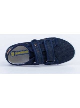 Текстильная обувь Котофей 631115-11 синий (34-37,5)