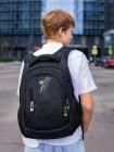Рюкзак SkyName 90-104 черный 28Х16Х43