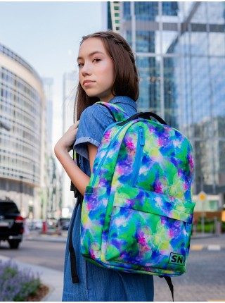 Рюкзак для подростков SkyName 77-08 мультиколор 26х15х41