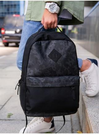 Рюкзак для подростков SkyName 80-41 черный 27х15х41