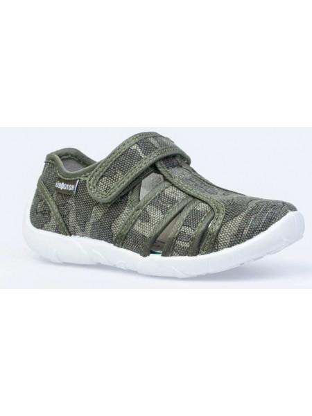 Текстильная обувь Котофей 421058-14 хаки (30-31)