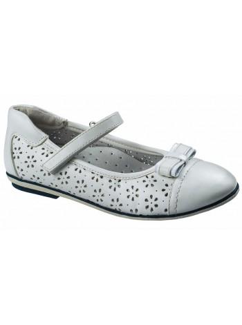 Туфли Болеро D17191B белый (31-37)