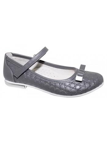 Туфли Болеро D13014I серый (31-37)