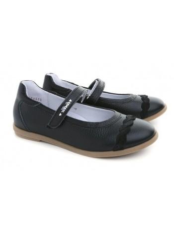Туфли Тотта 30001/2-КП черный (31-36)