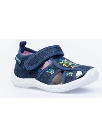 Текстильная обувь Котофей 221076-12 синий (22-25)