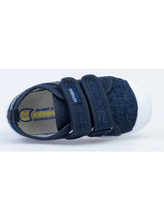 Текстильная обувь Котофей 331190-12 синий (23-28)
