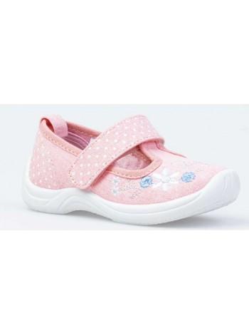 Текстильная обувь Котофей 231172-12 розовый (22-25)