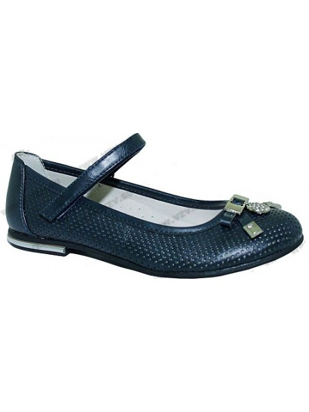 Туфли Болеро D12942B синий (31-37)