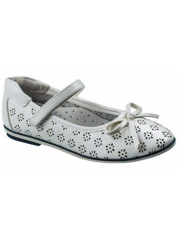 Туфли Болеро D17190B белый (31-37)