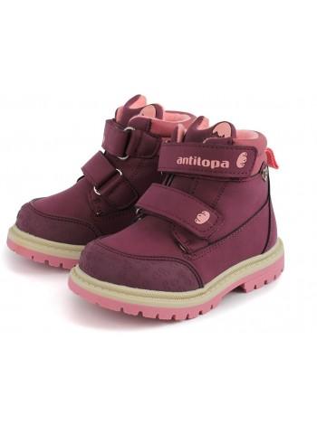Ботинки Antilopa AL 3455 фиолетовый (22-27)
