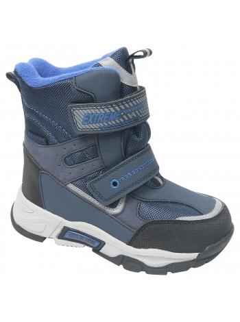 Ботинки зимние Tom&Miki B-7887-D синий (27-32)