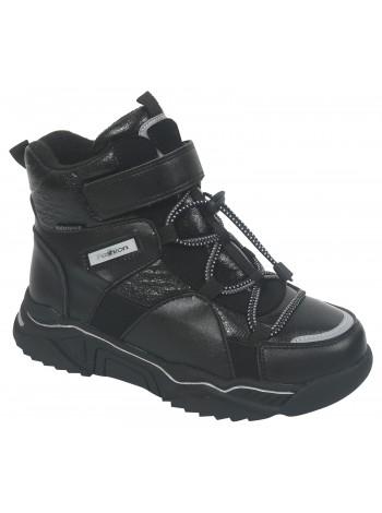 Ботинки зимние Tom&Miki B-7716-A черный (34-39)