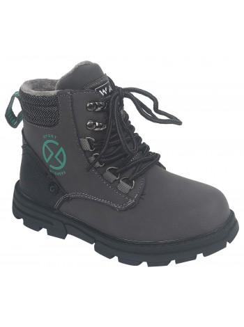 Ботинки Tom&Miki B-9693-C серый (33-38)