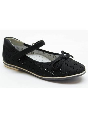 Туфли Болеро D17190B черный (31-37)