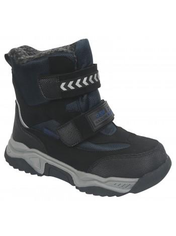 Ботинки зимние Tom&Miki B-7724-D черный/синий (34-39)