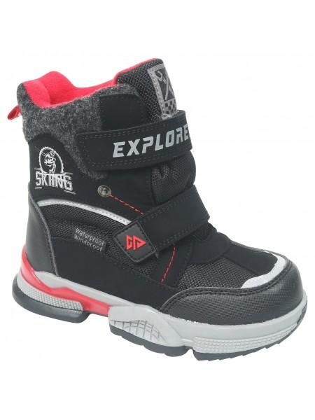 Ботинки зимние Tom&Miki B-7830-A черный (27-32)