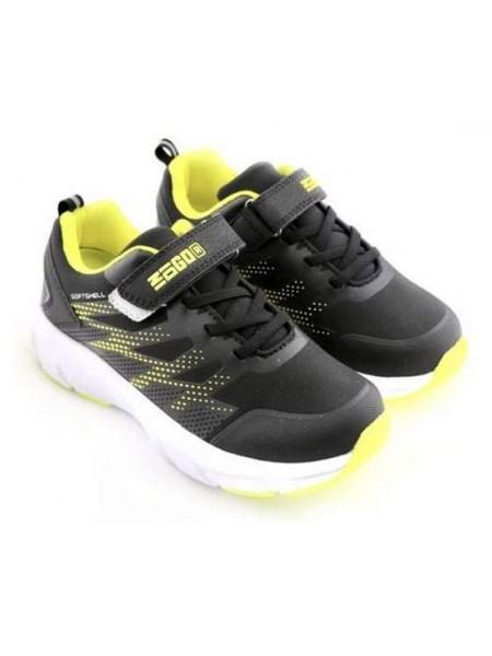 Кроссовки INDIGO 91-018A/9 черный/желтый (37-39)