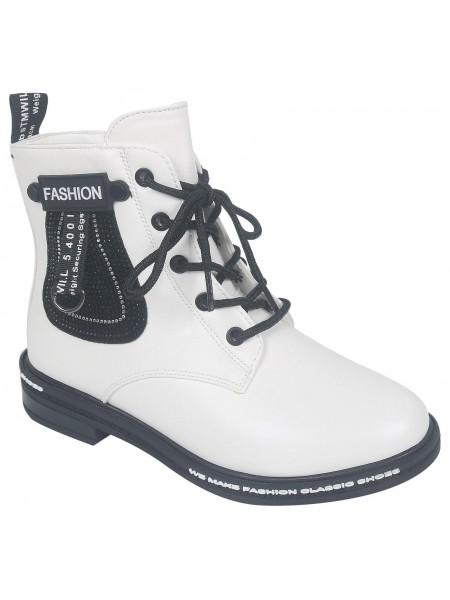 Ботинки Tom&Miki B-9573-K белый (32-37)