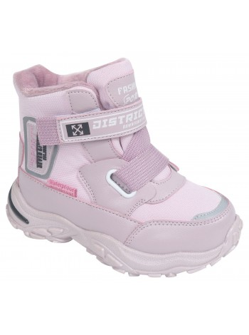 Ботинки зимние Tom&Miki B-9585-A розовый (27-32)