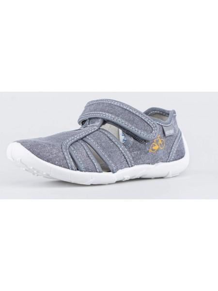 Текстильная обувь Котофей 421059-15 серый (27-33)