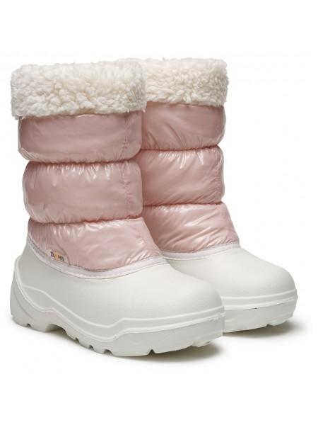 Сноубутсы Дюна 577 белый/розовый (27-33)