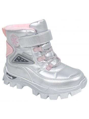 Ботинки зимние Tom&Miki B-9556-D серебро (28-35)