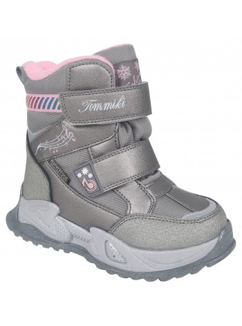 Ботинки зимние Tom&Miki B-9588-C серый (27-32)
