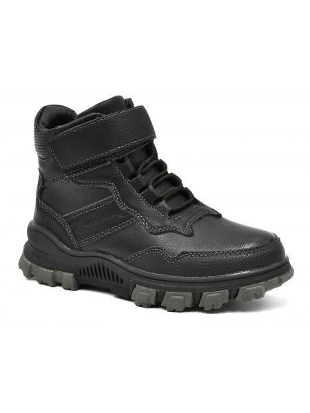 Ботинки зимние Колобок 3900-01 черный (27-32)
