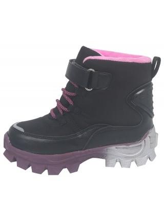 Ботинки зимние Tom&Miki B-9556-A черный (28-35)