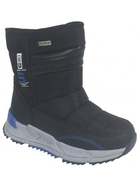 Ботинки зимние Tom&Miki B-9616-A черный (28-33)