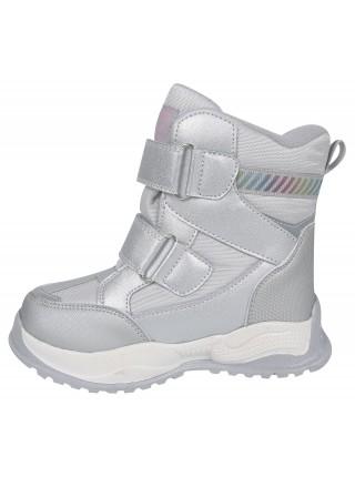 Ботинки зимние Tom&Miki B-9588-A серебро (27-32)