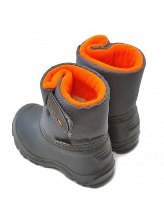 Сноубутсы Nordman Joy 1-018-D02 оранжевый/серый (20-27)