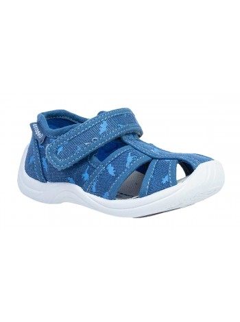 Текстильная обувь Котофей 221062-11 синий (22-25)