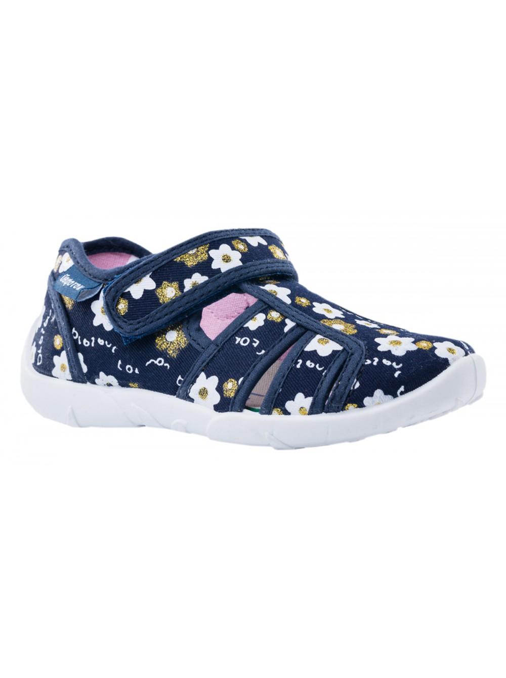 Текстильная обувь Котофей 421037-14 синий (26-31)