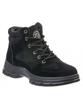 Ботинки Зебра 15516-1 черный (35-37,5)