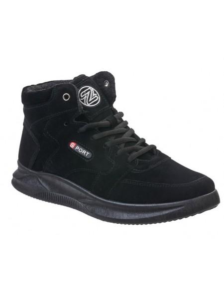 Ботинки Зебра 15850-1 черный (39-42)