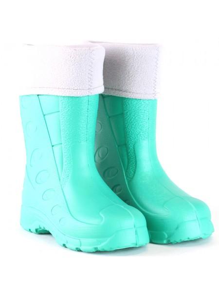 Резиновые сапоги Дюна 430 УФ зеленый/серый (29-34)