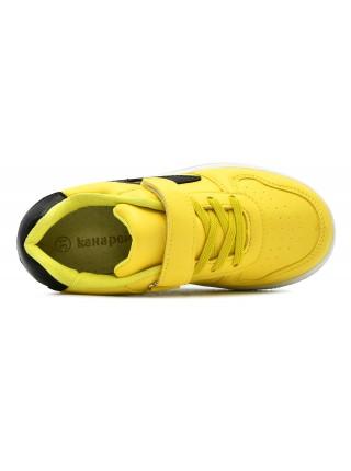 Кроссовки Канарейка E8146-5 желтый (31-36)