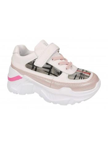Кроссовки BiKi A-B006-20-C розовый (28-35)