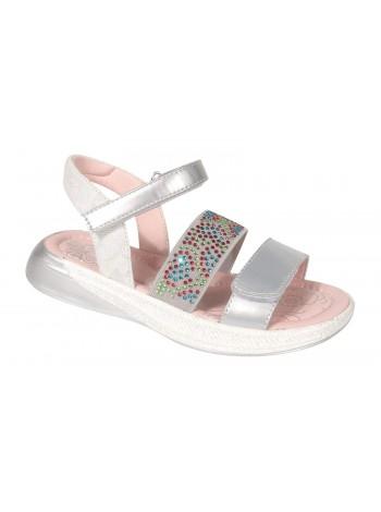Туфли открытые Tom&Miki B-7262-H серебро (27-32)