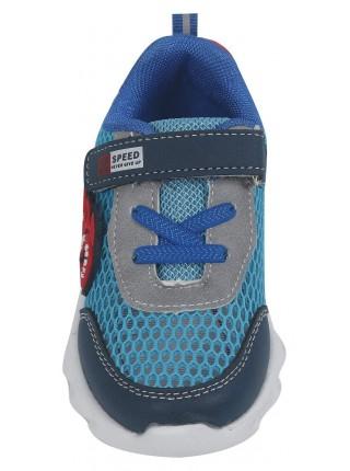 Кроссовки со светодиодами Tom&Miki B-7992-W синий (21-26)
