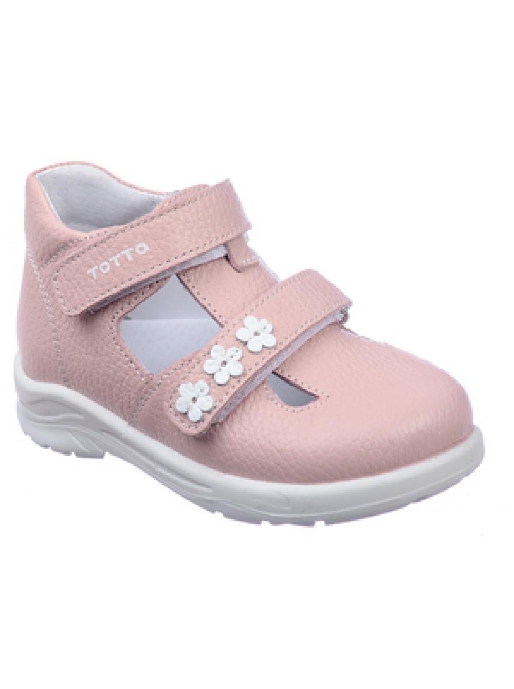 Туфли открытые ТОТТА 0228-КП 817 пудра (23-26)