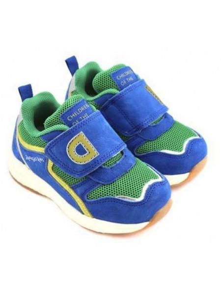 Кроссовки INDIGO 90-500L/10 синий/зеленый (23-26)