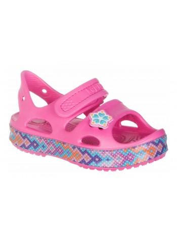 Пляжная обувь со светодиодами Kapika 82161 фуксия (25-30)