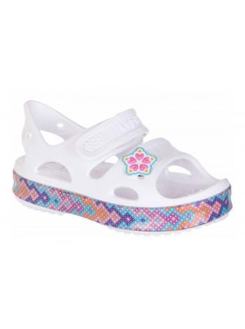 Пляжная обувь со светодиодами Kapika 82161 белый (25-30)