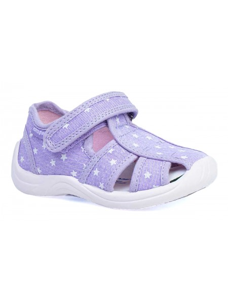 Текстильная обувь Котофей 221099-11 фиолетовый (22-25)