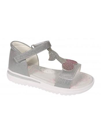Туфли открытые Tom&Miki B-7308-E серебро (26-31)